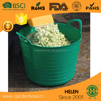 garden tool buckets Storage baskets with handle, various colors Suitable for Promotional Gifts, Customized Logos/Designs