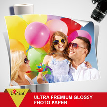 Glossy photo paper A4 silk photo paper for solvent printing paper photo