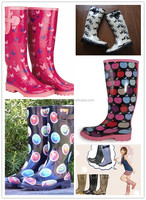 custom rain boots, rubber boots,women's rain boots with camo