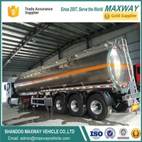 Transportation Sulfuric Acid Fuel Tanker Trailer