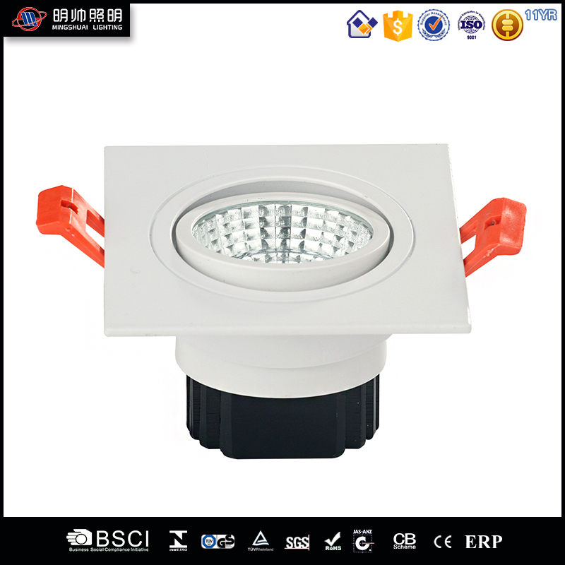 Fashional home harga lampu Downlight Dimmable