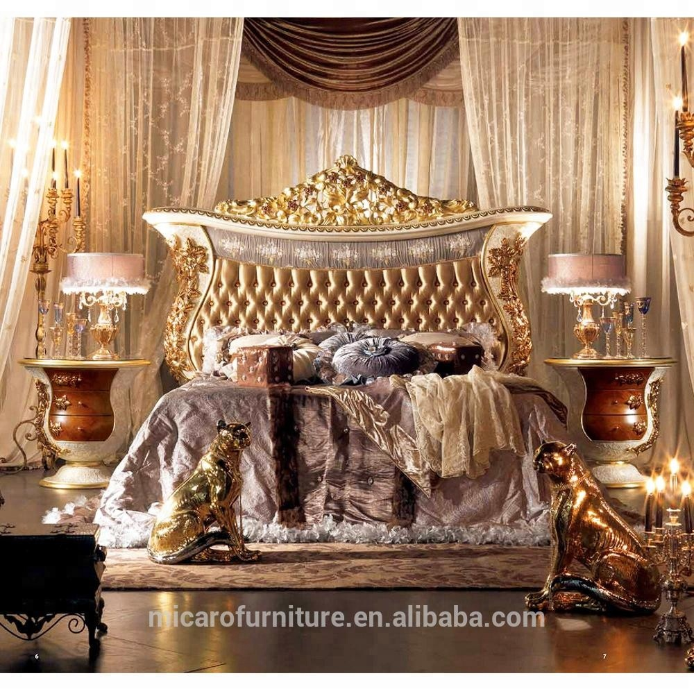 terbaru gaya italia royal baroque klasik ukiran kayu bedroom furniture  desain mewah - buy ukiran kayu bedroom furniture,bedroom furniture klasik