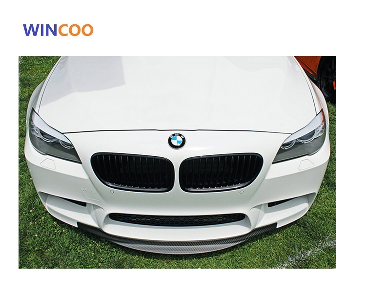 carbon fiber M5 front bumper lip for bmw f10 f18 5 series car year 2010-2016
