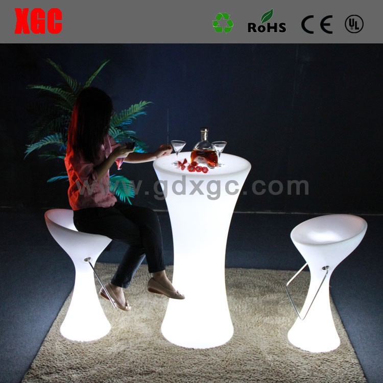 illuminated Cheap white plastic outdoor resin chair