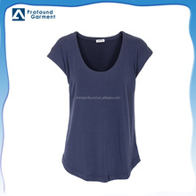 Custom plain cotton short sleeve scoop neck custom women dry fit wholesale unbranded t shirts mexico in bulk blank