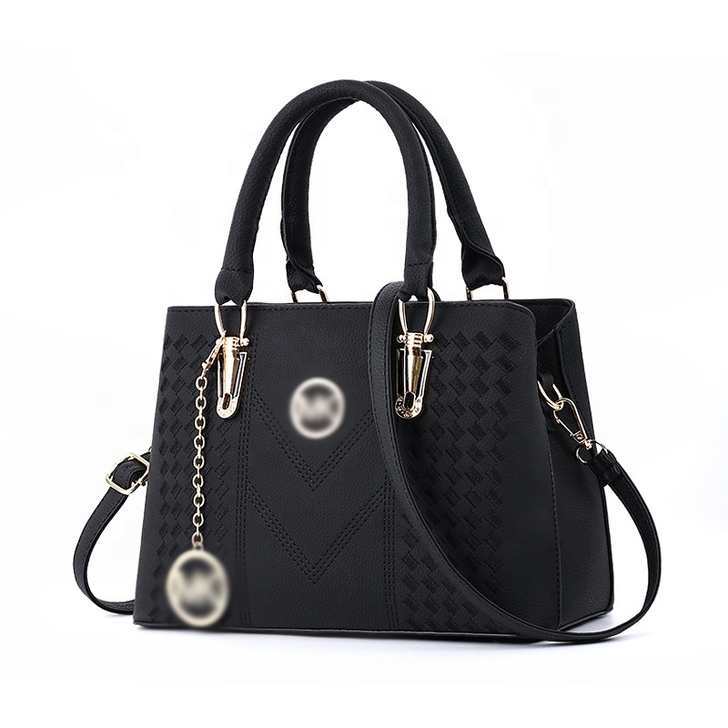 New design hot sale popular bags <strong>women</strong> handbags for <strong>women</strong> sets ladies hand bags 2018