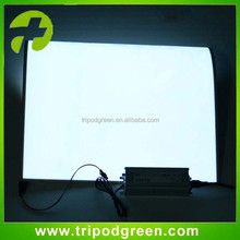 Roll up flexible el light paper/Electroluminescent light panel