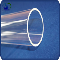 Large diameter high quality good resistance to alkalis and acids borosilicate glass tube price