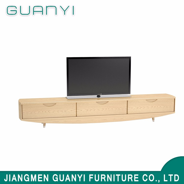Low price furniture design simple wooden lcd tv table
