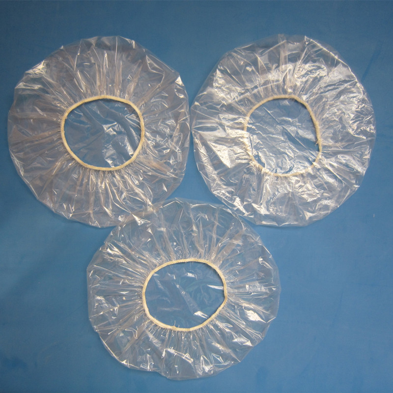 Factory wholesale Plastic Hotel Disposable plastic PE Shower cap