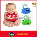 2014 easy to wash environmental soft cotton baby bib for child to install the saliva