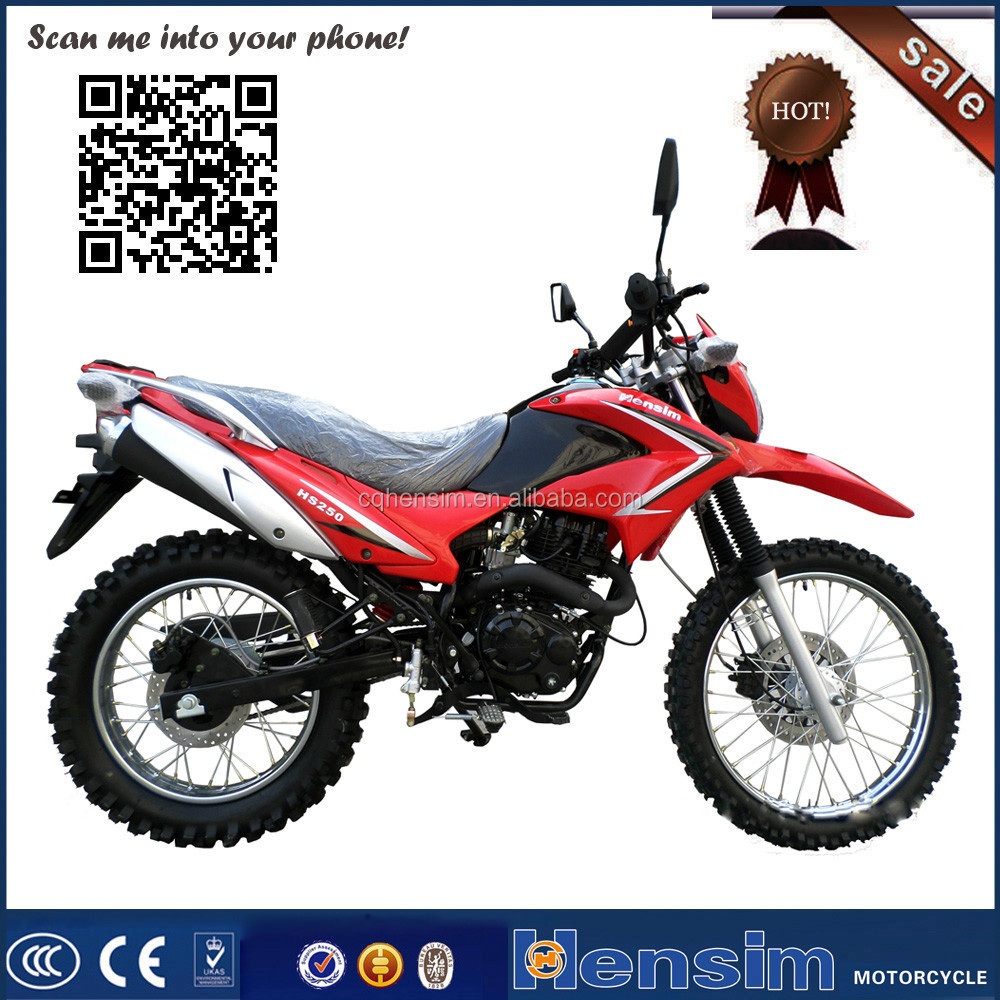 Best selling 250cc on road high performance Dirt bike