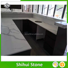 SHS Brand new technology white quartz countertops