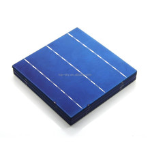 MOQ 100pcs 4.33W 3BB 17.8% efficiency 156 Poly polycrystalline Solar Cell 6x6 for Diy Solar Panels