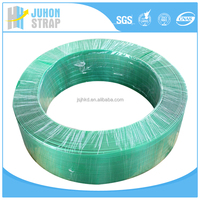 green PET polyester strapping