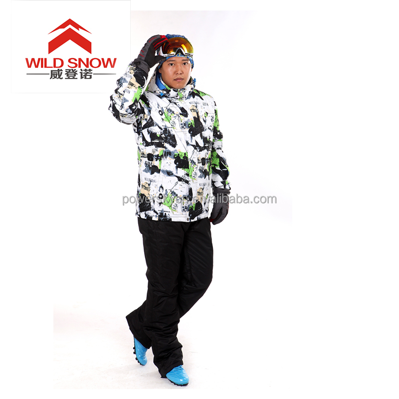 Super quality warm winter active xxl womens ski jacket