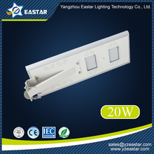 new style energy saving 20W all in one solar street light