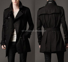 new design European style mens trench coat