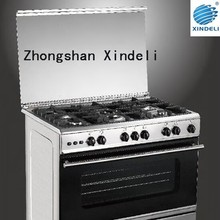 Gas cooker / gas stove / gas range with oven