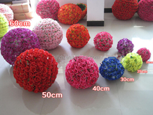 Customized hanging decorative flower ball