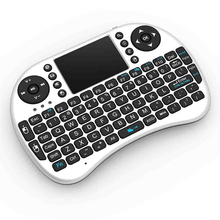High Quality 2.4G Mini i8 Wireless Keyboard With Touchpad Handheld for Laptop PC Pad Google Andriod TV Box keyboard