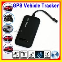 Mini GSM Tracker For Motorcycle SIM Card GPS Trackers With Free Tracking software