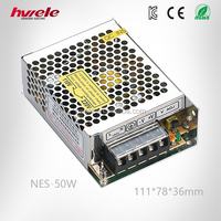 NES-50W Quality Power Supply 12V 4.2A DC Adapter Similar to Meanwell RS Series with CE ROHS CCC KC TUV Certification