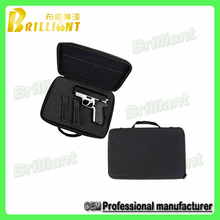 Custom packaging heavy duty EVA molded gun case with foam