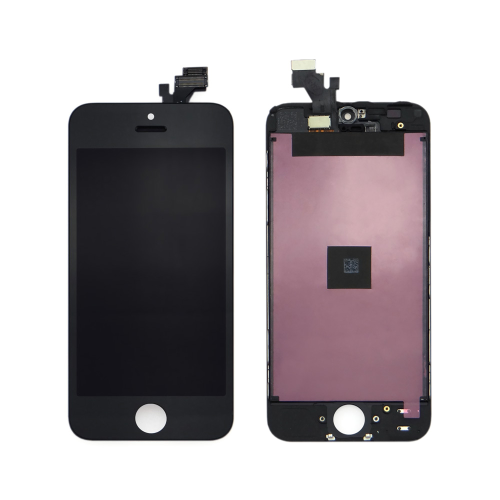 15years wholesale for iphone 5 lcd digitizer assembly black