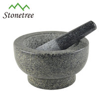 kitchenware polished granite mortar and pestle stone mortar and pestle