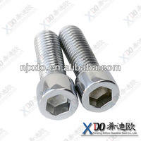 Monel400 2.4360 Monel K500 high quality fastener stainless steel bolt with ball socket
