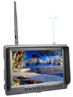 Channel Auto Searching Battery Powered 8 Inch 5.8Ghz LCD Diversity Receiver for FPV Systems