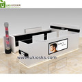 Customize hairdressing furniture, hairdressing salon styling stations, salon furniture from china