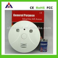 ZigBee Wireless Smoke Detector for Smart Home Automation,(9V Battery Powered), RexHome Profile
