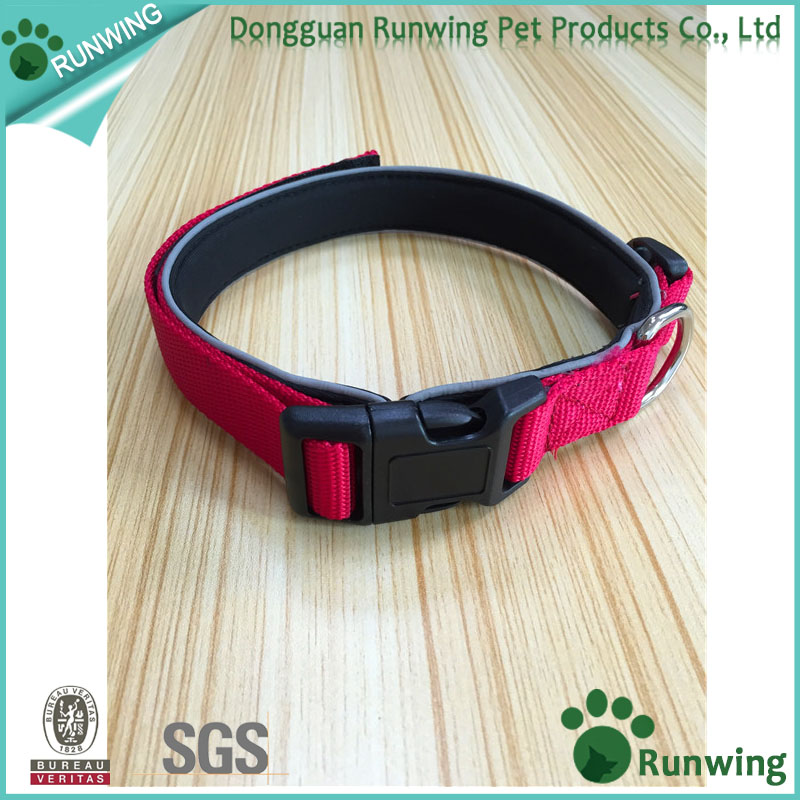 personalized reflective dog collar nylon, pet collar