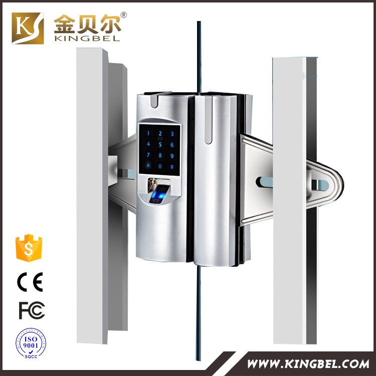 Biometric fingerprint glass door magnetic lock