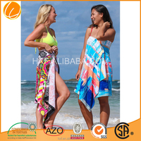 High Quality Cotton Printed Thin Beach