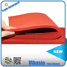 High Strength 5mm Red Silicone Rubber Foam Sheet