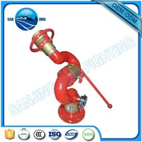 China manufacturer water power Fire Fighting Water Foam Monitor