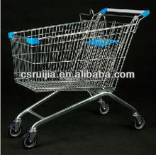European style 60~240 liters trolley/shopping cart