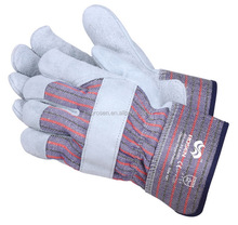 RS SAFETY high quality rigger cotton lined ruber gloves industrial working