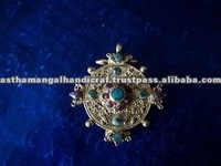 Gold plated ghau Pendant