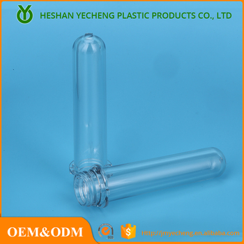 Customized 30mm pet preform for hospital