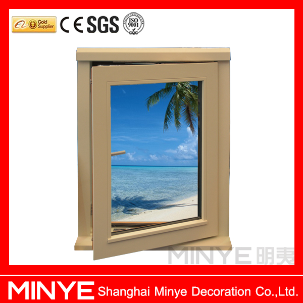 American aluminum window with sill design wood aluminum window and door