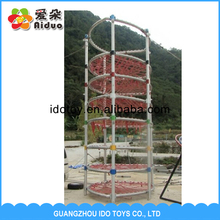 Menarik anak-anak bermain outdoor dan indoor playground spider tower