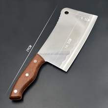 butcher professional cleaver stainless steel bone cutting kitchen knife