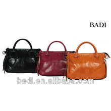 badi tote leather bags ladies leather bags 2012 latest design bags women handbag