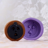 R0148 Halloween Pumpkin Shape Pastry Silicone Mould