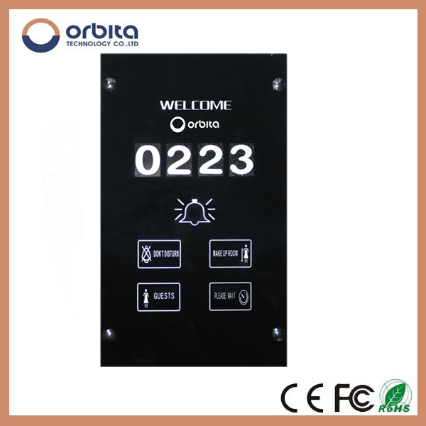 Hotel Room Touch Screen Thermostat Power Switch