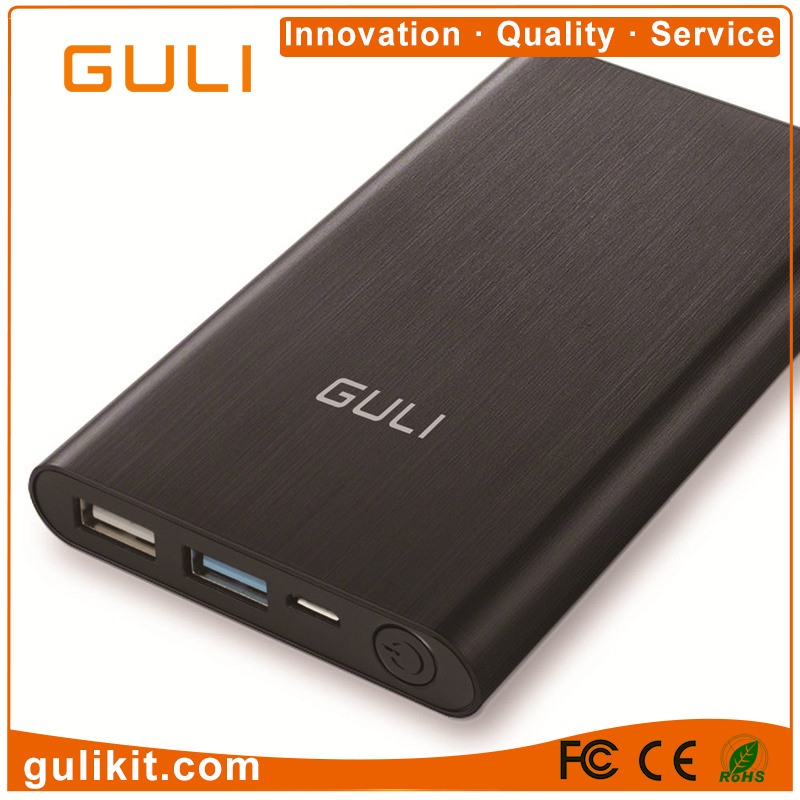 New original design qc3.0 Metal Shell quick charge 4.0 power bank, 10000mAh